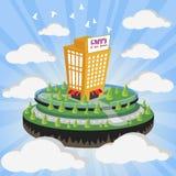 Cloud city Royalty Free Stock Photo