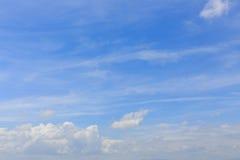 Cloud on clear blue sky, cloudy dramatic sky Royalty Free Stock Photos