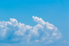 Cloud clear sky for background Stock Images