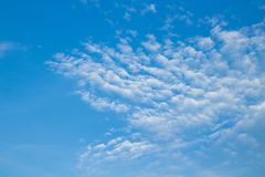 Cloud on clear sky Royalty Free Stock Photo