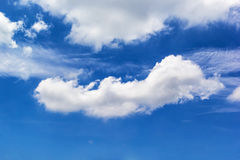Cloud. Close up shot Abstract form of cloud Royalty Free Stock Photos