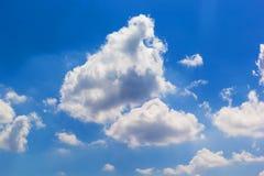 Cloud. Close up shot abstract form of cloud Stock Photos