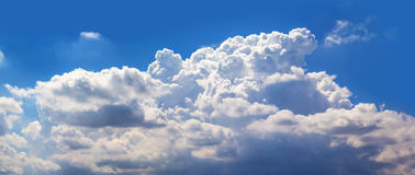 Cloud. Close up shot abstract form of cloud Royalty Free Stock Photography
