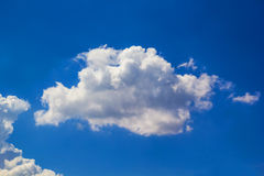 Cloud. Close up shot abstract form of cloud Royalty Free Stock Photo