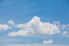 Cloud closeup Stock Images