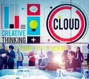 Cloud Cloud Computing Cloud Networking Data Storage Concept Stock Images