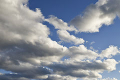 Cloud Cloudscape. Cloudscape of dramatic clouds in the sky Royalty Free Stock Photography