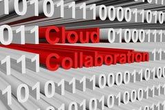 Cloud collaboration Stock Photo