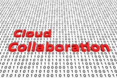 Cloud collaboration Stock Images