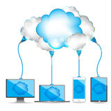 Cloud communication Stock Photography