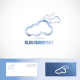 Cloud company logo Stock Photography