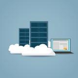 Cloud computer concept Stock Photo