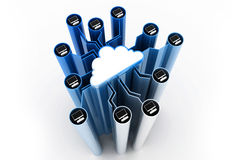 Cloud computer network Stock Photography