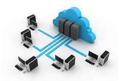 Cloud computin Royalty Free Stock Photos