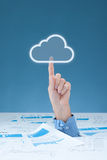 Cloud computing stock images