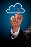 Cloud computing Royalty Free Stock Photo