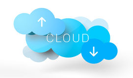 Cloud computing Photo stock