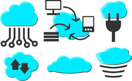 Cloud Computing Photo libre de droits