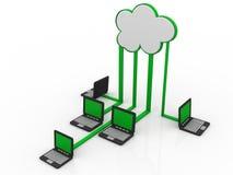 Cloud Computing Fotos de archivo libres de regalías