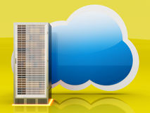 Cloud computing Photographie stock