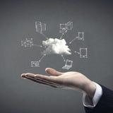 Cloud computing Photo stock
