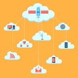 Cloud Computing Image stock