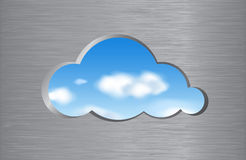 Cloud computing abstract concept Royalty Free Stock Image