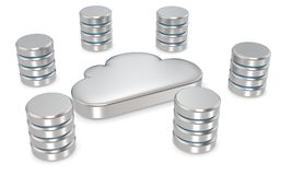 Cloud Computing. Royalty Free Stock Image