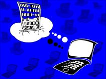 Cloud Computing as IaaS, PaaS, SaaS. Illustration of Abacus as a symbol. Cloud Computing as IaaS, PaaS, SaaS. Abacus is a symbol of cloud architecture for vector illustration