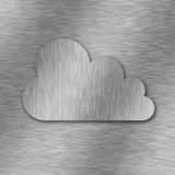 Cloud computing background Stock Images