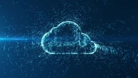 Cloud computing and Big data concept