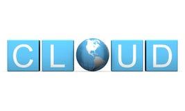 Cloud computing Royalty Free Stock Photos