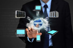 Cloud Computing for Business Royalty Free Stock Photos