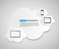 Cloud Computing Business Concept Vector Illustration Stock Photo
