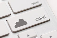 Cloud computing Royalty Free Stock Photos