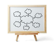 Cloud Computing Chart Royalty Free Stock Photography