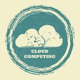 Cloud computing communication Stock Photos