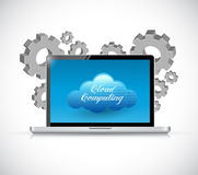 cloud computing computer industry Royalty Free Stock Photo