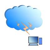 Cloud computing concept. Stock Image