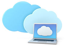 Cloud computing concept Royalty Free Stock Photos
