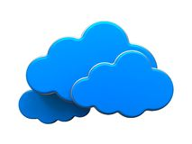 Cloud Computing Concept. Royalty Free Stock Photos