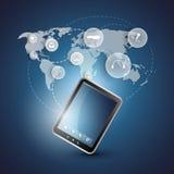 Cloud Computing Concept Royalty Free Stock Photos
