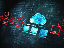 Cloud computing concept: Cloud Technology on Stock Images