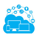 Cloud computing Stock Photos