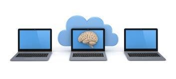 Cloud computing concept Stock Photos
