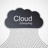Cloud computing concept design. Royalty Free Stock Photography