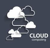 Cloud Computing Concept on Different Electronic Stock Photo