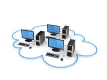 Cloud computing concept. Stock Image