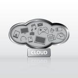 Cloud computing concept Stock Photography