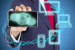 Cloud Computing concept Royalty Free Stock Photo
